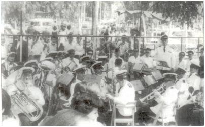 Banda de Música en Bollullos del Condado.